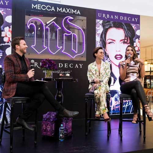 Q&A Ruby Rose Event Urban Decay